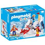 Playmobil Snöbollskrig