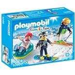 Playmobil Vintersportare