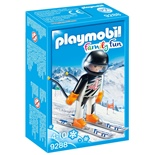 Playmobil Tävlingsskidåkare