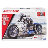 Meccano 5-in-1 Models Motorcycles