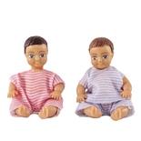 Lundby Två Bebisar
