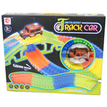 Bilbana Track Car Neon 150 Delar
