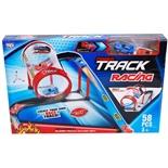 Power Track Racing Plastbilbana 57 Delar