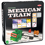 Tactic Mexican Train i Plåtlåda