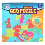 Peliko Geopuzzle 58 Bitar Europa