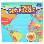 Peliko Geopuzzle 68 Bitar Världen