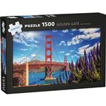 Kärnan Pussel 1500 Bitar Golden Gate San Francisco