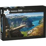 Kärnan Pussel 500 Bitar Trolltunga Norway