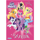 Kärnan Målarbok My Little Pony The Movie