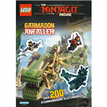 Kärnan LEGO Pysselbok Garmadon Anfaller The Ninjago Movie
