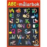 Kärnan ABC-Målarbok