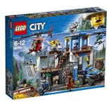 LEGO City Bergspolisens Högkvarter