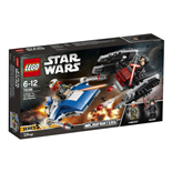 LEGO Star Wars A-Wing™ vs TIE Silencer™ Microfighters