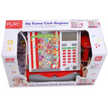 My Funny Cash Register Kassaapparat Multiscreen med Mikrofon
