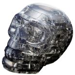 Crystal Puzzle 3D Pussel 48 Bitar Skull Svart