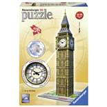 Ravensburger 3D Pussel 216 Bitar Big Ben London Real Clock