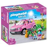 Playmobil Familjebil med Parkeringsplats
