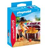 Playmobil Pirat med Skattkista