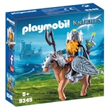 Playmobil Dvärg med Stridshäst