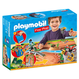 Playmobil Play Map Motocross