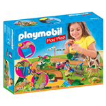 Playmobil Play Map Ponnyutflykt