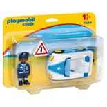 Playmobil 1-2-3 Polisbil