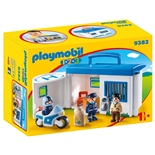 Playmobil 1-2-3 Polisstation Take Along