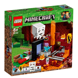 LEGO Minecraft Nether-portalen