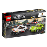 LEGO Speed Champions Porsche 911 RSR och 911 Turbo 3.0