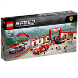 LEGO Speed Champions Ferrari Ultimat Garage