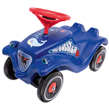 BIG Bobby Car Classic Ocean Blå + Polis
