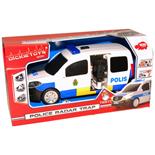 Dickie Toys SOS Polisvan med Fartradar och Ljud o Ljus