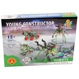 Alexander Young Constructor Robots Alien World 151 Delar