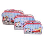 Resväska 3-Pack Brandbil
