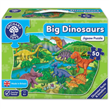 Orchard Toys Pussel 50 Bitar Big Dinosaurs