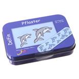 Delfinplåster i Plåtask