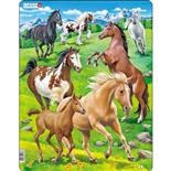 Larsen Pussel 65 Bitar Hästar
