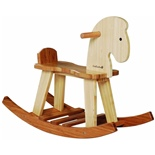 EverEarth Bamboo Rocking Horse - Bambu Gunghäst