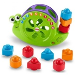 Fisher Price Rock´n Roll Sort Snail Pail