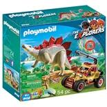 Playmobil Forskarmobil med Stegosaurus