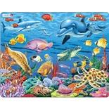 Larsen Pussel 35 Bitar Korallrevet