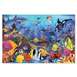 Melissa & Doug Golvpussel 48 Bitar Under Havet