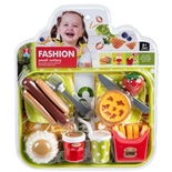 Fashion Small Cutlery Bricka med Korv och Paj
