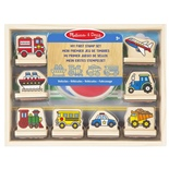 Melissa & Doug My First Stamp Set Vehicles