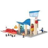 BRIO Flygplats med Flygplan