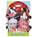 Melissa & Doug Farm Friends Handdockor
