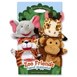 Melissa & Doug Zoo Friends Handdockor