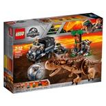LEGO Jurassic World Carnotaurus Gyrosfärflykt