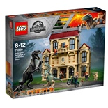 LEGO Jurassic World Indoraptor och Attacken mot Lockwood Es