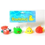 Baddjur Fiskar 4-Pack